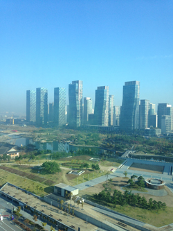Songdo Central Park; photo credit: Carolin Kablau